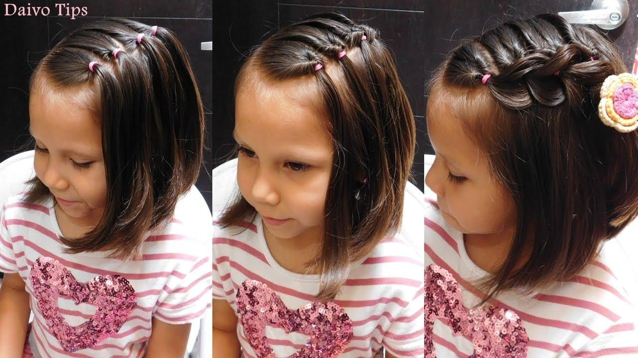Sensacional peinados niña pelo corto Fotos de consejos de color de pelo - PEINADOS RÁPIDOS PARA NIÑAS CON PELO CORTO  EASY GIRLS ...