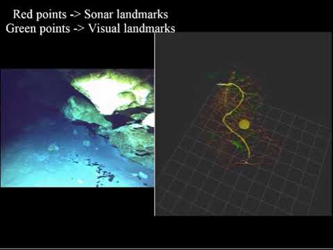 Underwater Structure Mapping by SONAR, Vision, Inertial and Depth Information Fusion