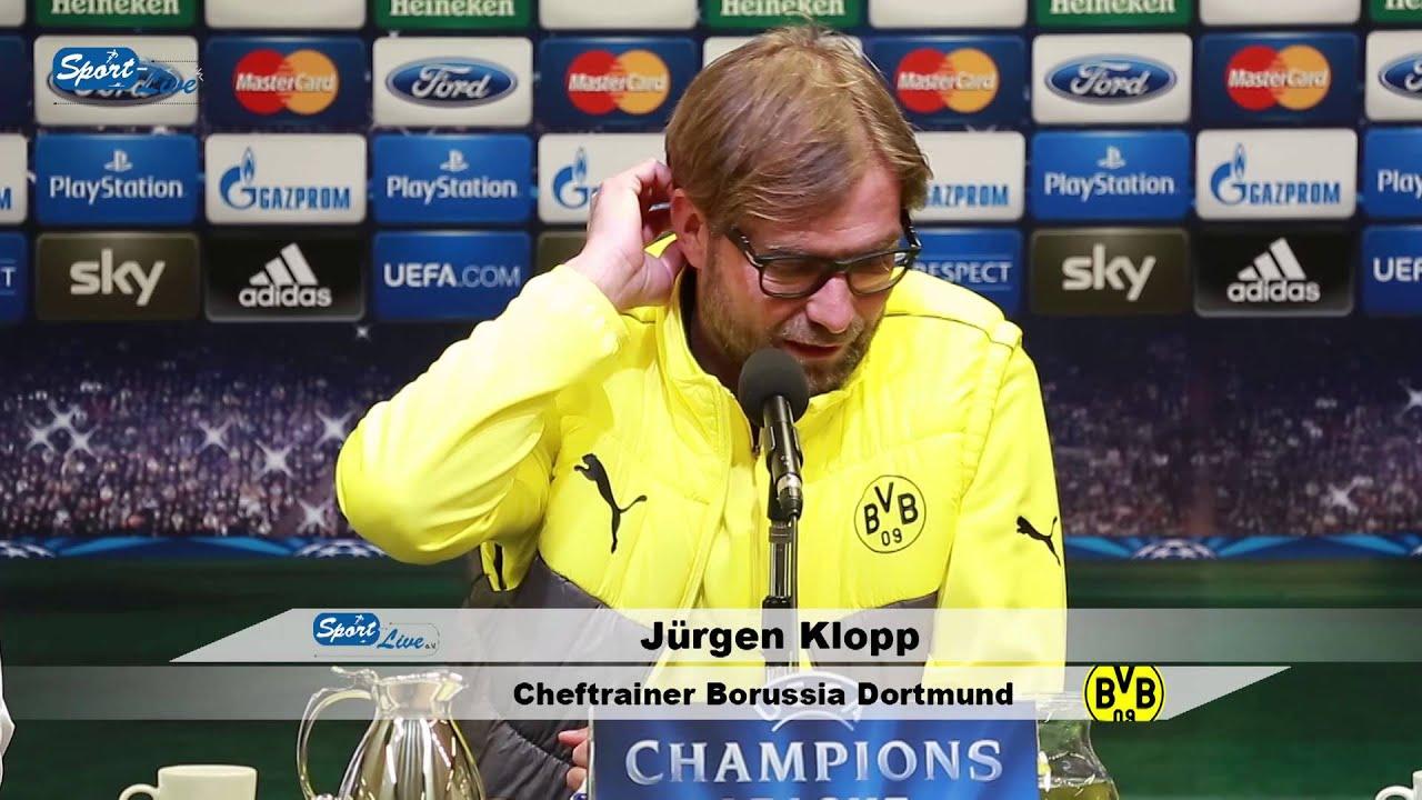 BVB Pressekonferenz vom 25. November 2013 vor dem Spiel Borussia Dortmund gegen den SSC Neapel