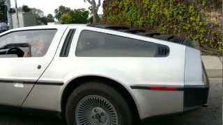 Delorean DMC-12 in Santa Maria, California