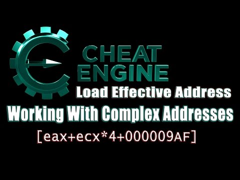 Game Hacking: Load Effective Address and Working With Comple