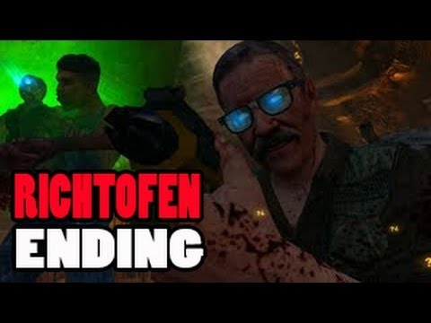 Buried Easteregg Richtofen Side Ending | Samuel Is A Zombie! Samantha Is Dead! BO2 Zombies Gameplay