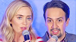 Mary Poppins Returns | full press conference (2018)