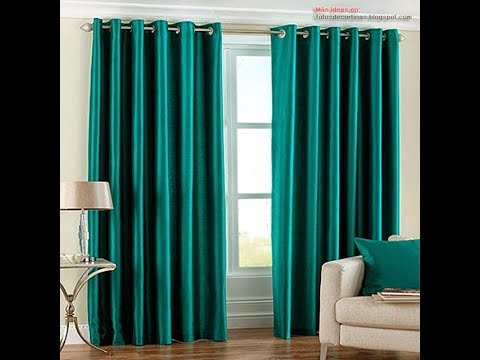 Tecidos mais indicados para cortinas youtube - Cortinas para ventanas abuhardilladas ...