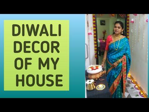Diwali Home Decor   Indian Diwali Home Decoration Ideas   Entrance Decor   Living Room Decor
