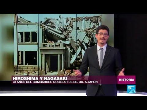 73 años de las bombas atómicas a Hiroshima y Nagasaki