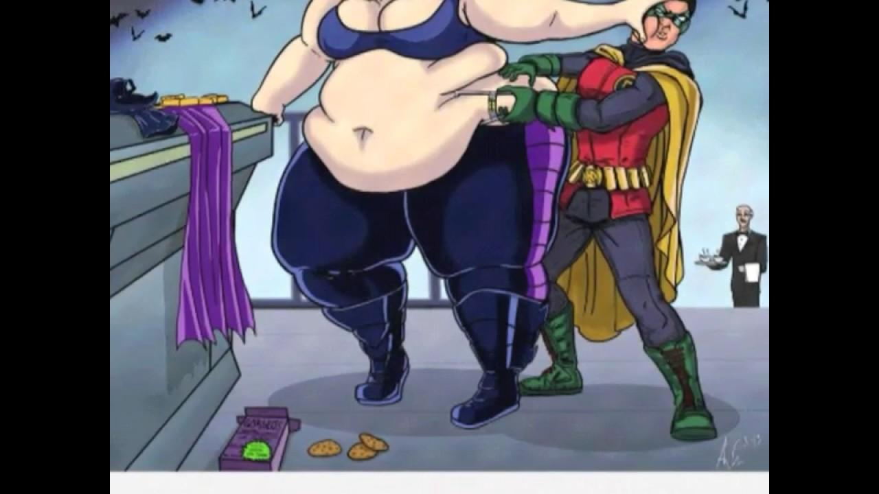 fat superhero girl - YouTube