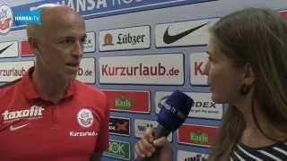Interview mit Karsten Baumann vor dem Heimspiel gegen Fortuna Köln