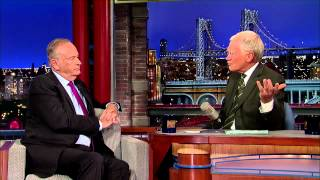 David Letterman - Peyton Manning Talks Omaha!