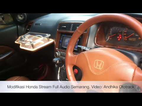 Modifikasi Honda Stream Full Audio Semarang