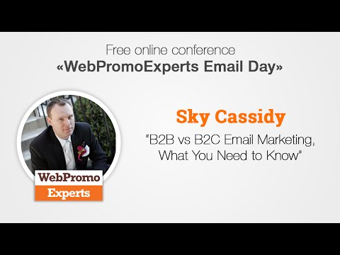B2B vs B2C Email Marketing, What You Need to Know by Sky Cassidy