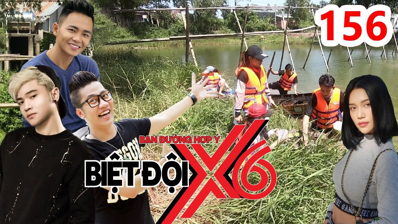 BIỆT ĐỘI X6 | BDX6 #156 | Cười lộn ruột với màn cover HongKong1 phiên bản toàn...DỪA của sao Việt