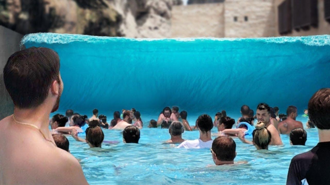 9 Сумасшедших Бассейнов с Волнами, Которые Действительно Существуют