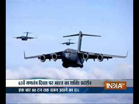 India's military might showcased at Republic Day parade, Part 2
