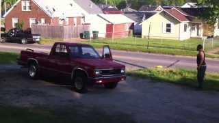 Crazy Redneck Bath Salt Tweeker almost hits my Neighbor mowing his lawn Owensboro Kentucky