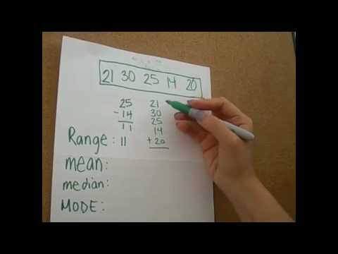 6th grade math mean median mode youtube ccuart Gallery