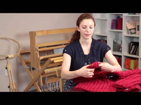 How to Shrink a Knit Sweater : Knitting Help