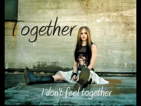 Avril Lavigne - Together (with lyrics) HD