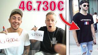 47.000€ OUTFIT!! Wie viel € ist sein OUTFIT WOHL wert?!