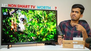 """VU 32"""" NON SMART HD LED TV Review! Just for Rs 10,000! How good can it be?"""