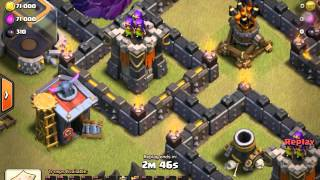 Clash of Clans HOW TO 3 STAR A MAX!!! TH9 WITH GOWIPE!!!!!!!