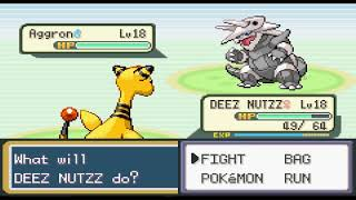 Pokemon Fire Red Randomizer Ep 9: Curse you Fartsss!