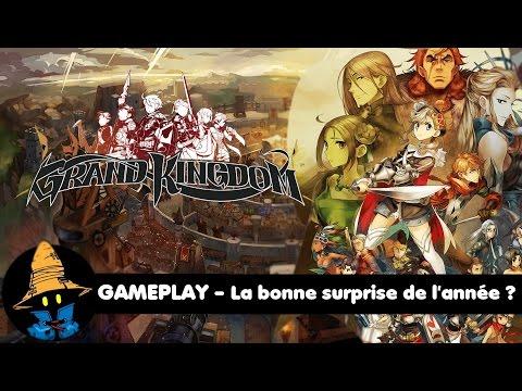 GRAND KINGDOM GAMEPLAY sur PS4 : La bonne surprise de l'année ?