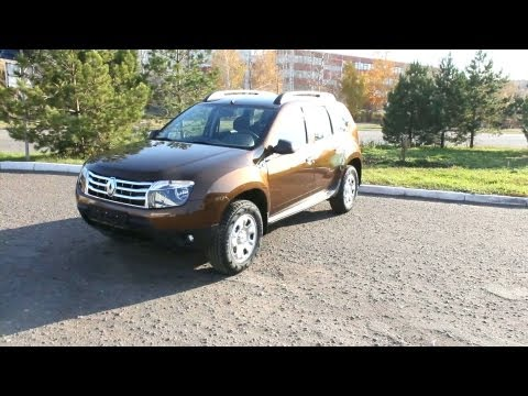 2012 Renault Duster. Start Up, Engine, and In Depth Tour.