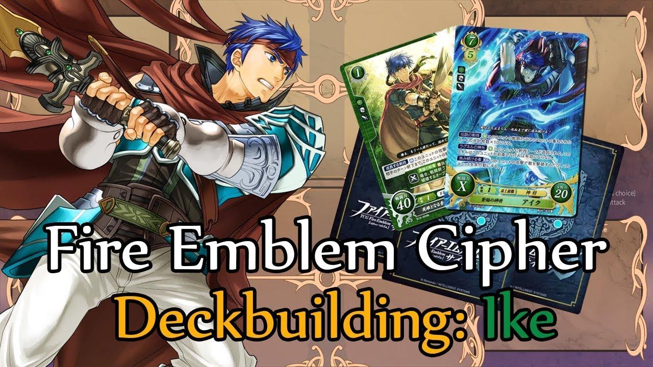 Fire Emblem Cipher 0 Deckbuilding: Ike MC (Raffle winner #1)