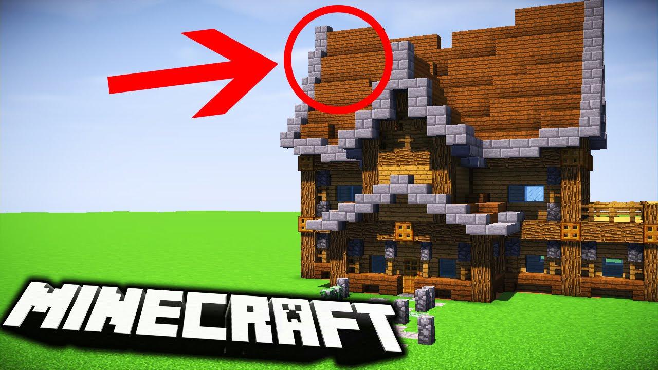 Z Czego Zbudowac Ladny Domek W Minecraft Youtube