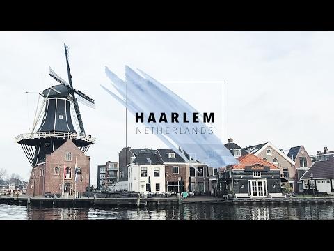 HAARLEM, NETHERLANDS VLOG • First Day Trip from Amsterdam