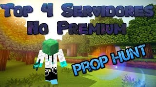 Top Servidores Minecraft No Premium con Prop Hunt ( 1.8)