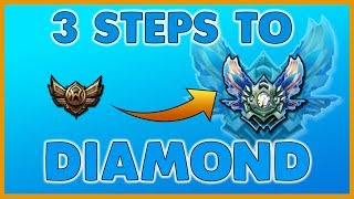 How I Got Diamond 1 - Three Easy Ways to Climb in Ranked - League of Legends