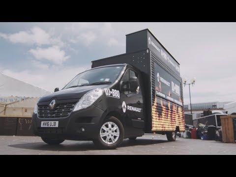 How Renault built the ideal van for DJ BBQ (sponsored)