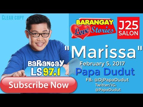 Barangay Love Stories February 5, 2017 Marissa