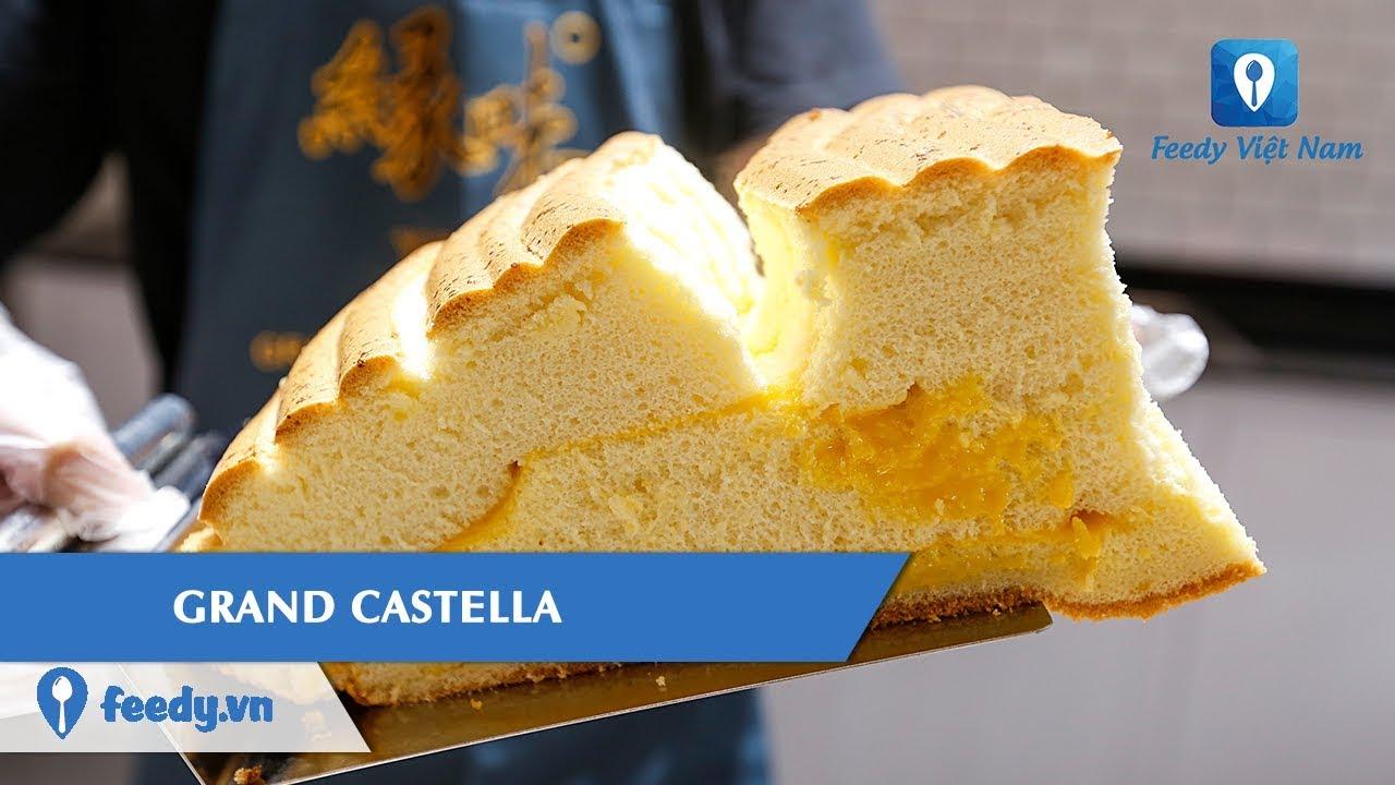 [ Review] Từ chiếc bánh bông lan khổng lồ đến thương hiệu GRAND CASTELLA số 1 Đài Loan | Feedy TV