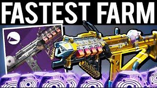 BEST PVE WEAPON FASTEST FARM IKELOS SMG - Destiny 2