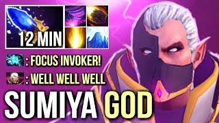 SumiYa Invoker Boss Getting Out of Control Most Epic Combo 99% SunStrike WTF Dota 2