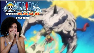 RED HAWK BABY!!! |ONE PIECE EPISODE 563, 564, 565, 566 REACTION