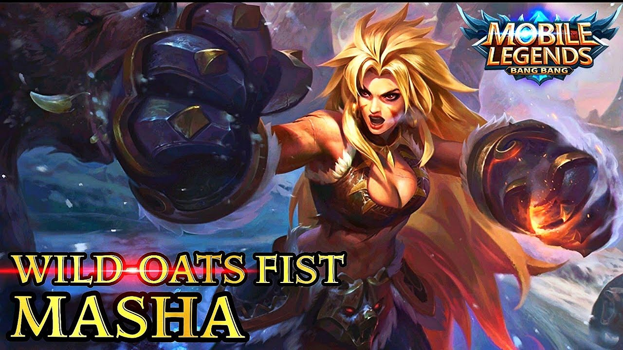 New Hero Wild-oats Fist Masha Gameplay - Mobile Legends Bang Bang