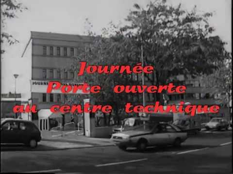 France Telecom en 1990 - Visiophone - Umatic Secam