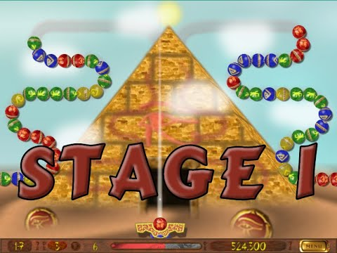 Luxor 7 Wonders Of The Ancient World (Luxor Mod) ! Stage 1 : The Pyramid Of Giza  
