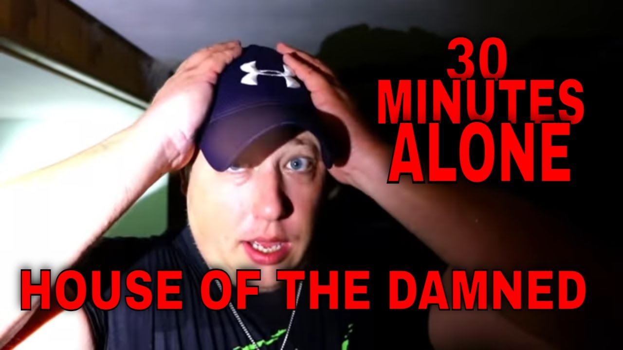 (ALONE AT A HAUNTED HOUSE) EVERYTHING LEFT BEHIND