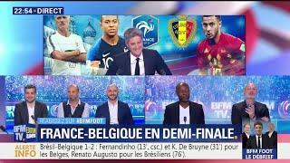 Mais pourquoi Henry est-il dans le staff belge ? La réponse de François Manardo