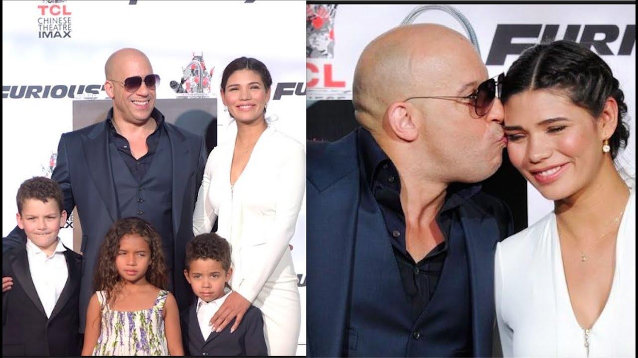 Vin Diesel Family And Children Model Wife Paloma Jiménez And Kids Youtube