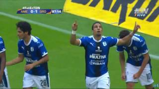 America vs Queretaro 0 - 1 Penal de Camilo Sanvezzo Jornada 1 Apertura 2017 Liga MX