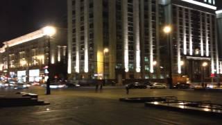 Ночью у кремля) красиво, группа о переезде в москву