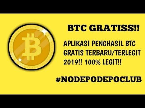 BTC GRATISS!! APK PENGHASIL BTC GRATISS TERBARU/TERLEGIT 2019 || 100% LEGIT!!