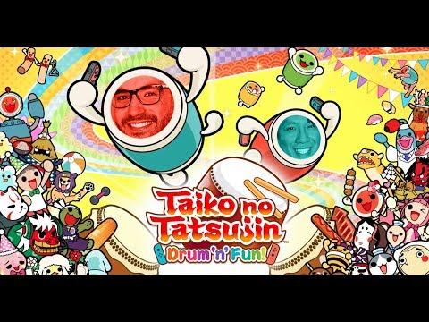 Taiko no Tatsujin: Drum 'n' Fun! auf der Nintendo Switch mit Ilyass & Viet