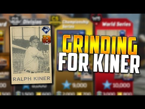 GETTING CLOSER TO 99 RALPH KINER! MLB The Show 17 | Diamond Dynasty | Ranked Seasons